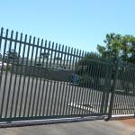Powder Coated Garrison Gates