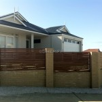 Wood Look Slat Fencing Mandurah
