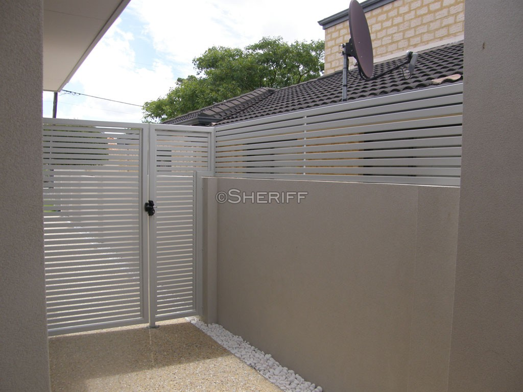 Perth Slat Fences Amp Gates Aluminium Slat Fencing