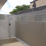 Aluminium Slat Gates & Privacy Screen